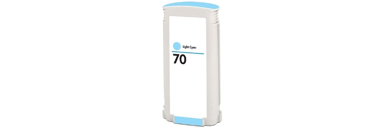 HP 70 Light Cyan Remanufactured