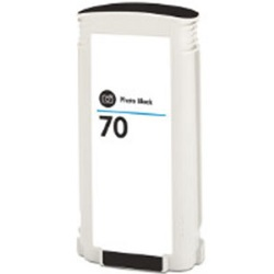 HP 70 Matte Black Ink Cartridge - HP Remanufactured (Matte Black)