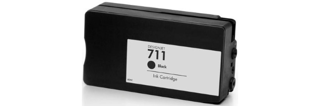 HP 711 Black Remanufactured