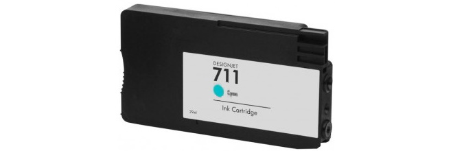 HP 711 Cyan Remanufactured