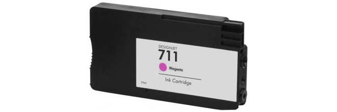 HP 711 Magenta Remanufactured