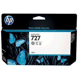 HP 727 Gray Ink Cartridge - HP Genuine OEM (Gray)