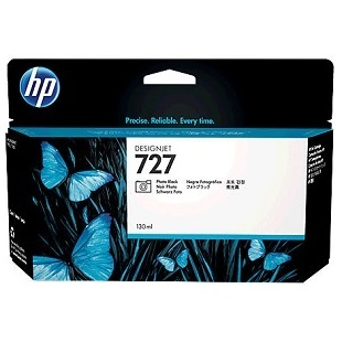 HP 727 Photo Black Ink Cartridge - HP Genuine OEM (Photo Black)