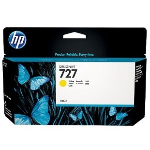 HP 727 Yellow Ink Cartridge - HP Genuine OEM (Yellow)