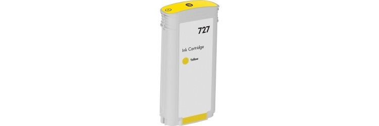 HP 727 Yellow Compatible