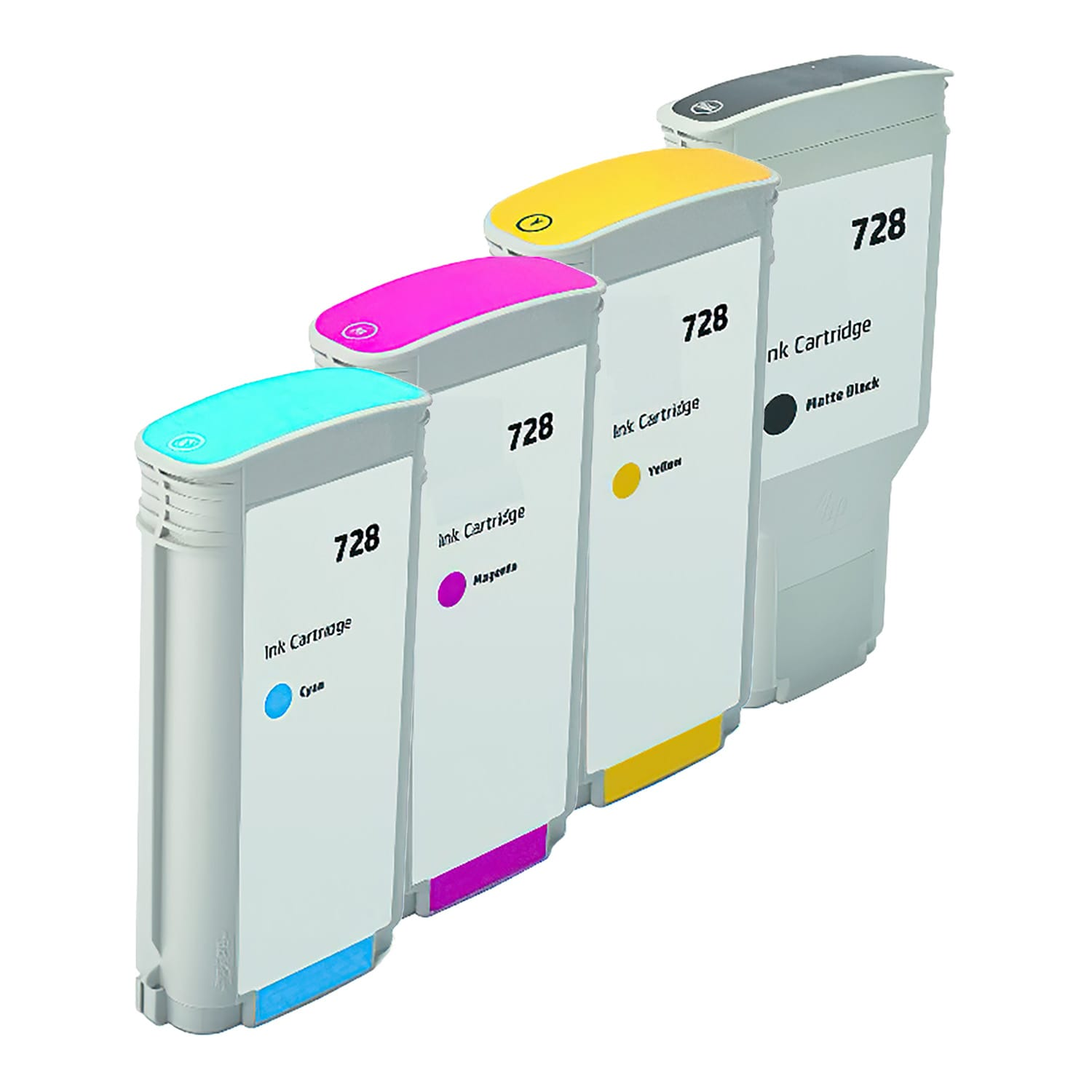 Compatible HP 728 Inkjet High Capacity Pack - 4 Cartridges