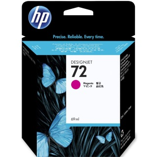 HP 72 Magenta Ink Cartridge - HP Genuine OEM (Magenta)