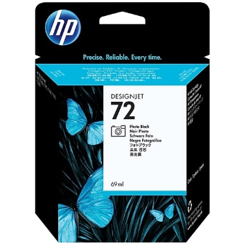HP 72 Photo Black Ink Cartridge - HP Genuine OEM (Photo Black)