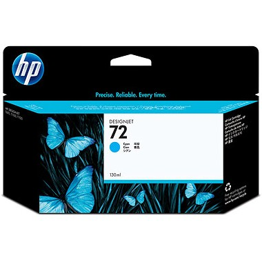HP 72XL Cyan Ink Cartridge - HP Genuine OEM (Cyan)