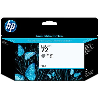 HP 72XL Gray Ink Cartridge - HP Genuine OEM (Gray)