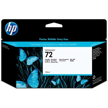 HP 72XL Photo Black Ink Cartridge - HP Genuine OEM (Photo Black)