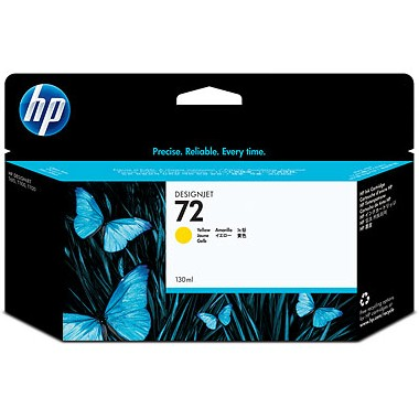 HP 72XL Yellow Ink Cartridge - HP Genuine OEM (Yellow)
