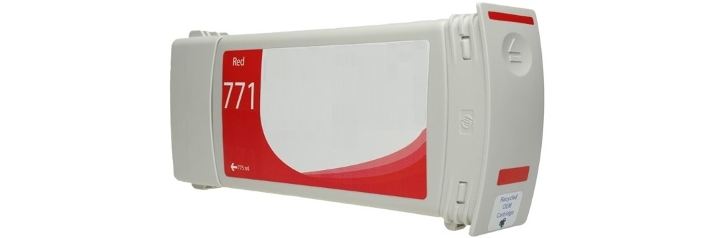 HP 771 Chromatic Red Remanufactured