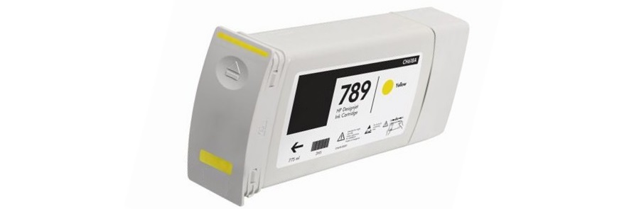 HP 789 Yellow Remanufactured