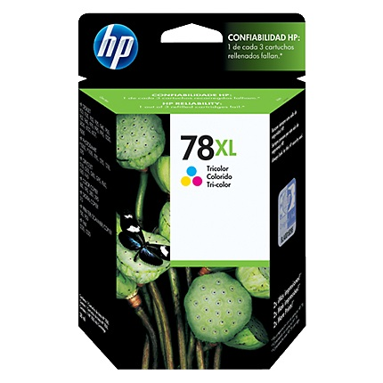 HP 78XL Ink Cartridge - HP Genuine OEM (Tricolor)