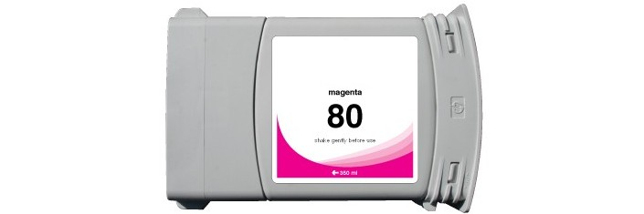 HP 80XL Magenta Remanufactured