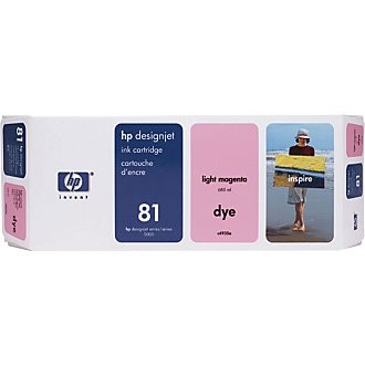 Genuine HP 81 Light Magenta Ink Cartridge