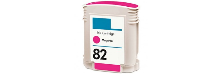 HP 82 Magenta Remanufactured