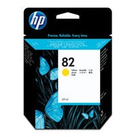 HP 82XL Yellow Ink Cartridge - HP Genuine OEM (Yellow)