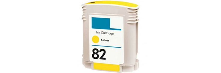 HP 82 Yellow Remanufactured