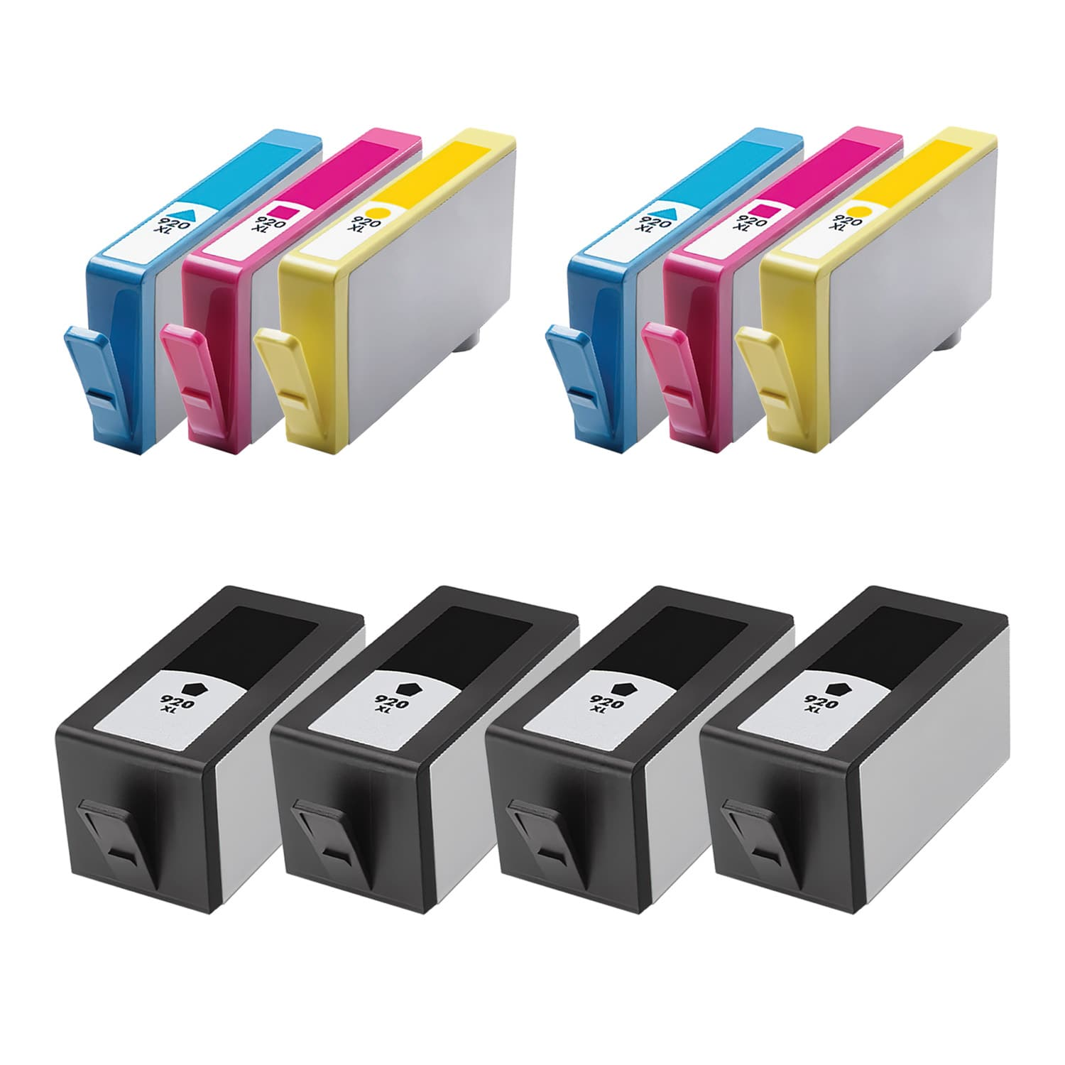 Remanufactured HP 920XL Inkjet High Capacity Pack - 10 Cartridges
