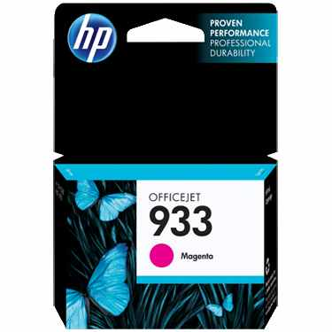 HP 933 Magenta Ink Cartridge - HP Genuine OEM (Magenta)