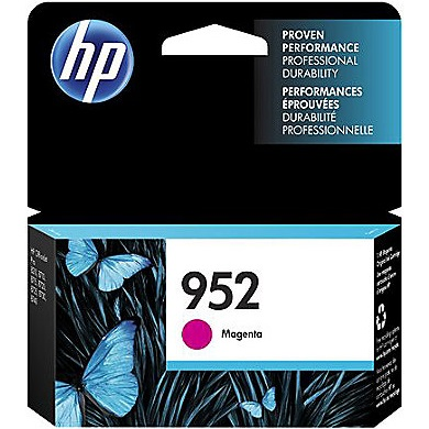 HP 952 Magenta Ink Cartridge - HP Genuine OEM (Magenta)