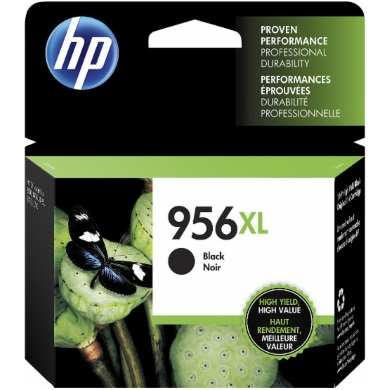 HP 956XL Black Ink Cartridge - HP Genuine OEM (Black)