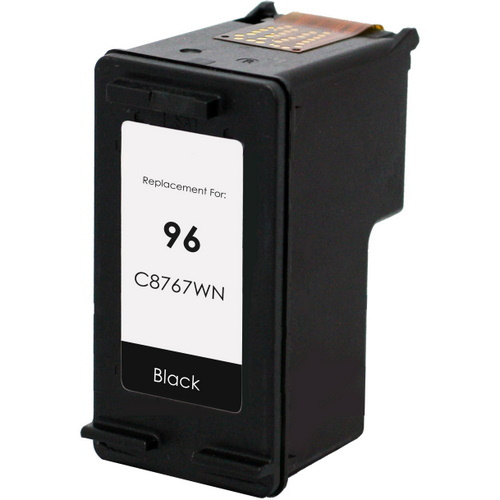 HP 96 Ink Cartridge - HP Remanufactured (Black)