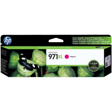 HP 971XL Magenta Ink Cartridge - HP Genuine OEM (Magenta)