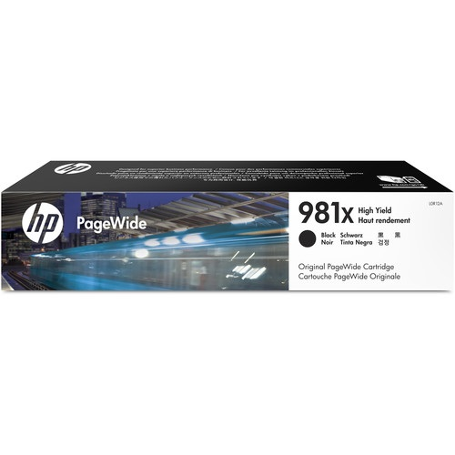 HP 981X Black Ink Cartridge - HP Genuine OEM (Black)