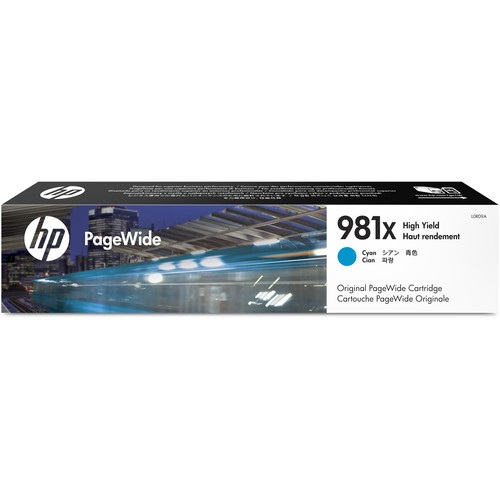 HP 981X Cyan Ink Cartridge - HP Genuine OEM (Cyan)