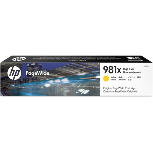 HP 981X Yellow Ink Cartridge - HP Genuine OEM (Yellow)