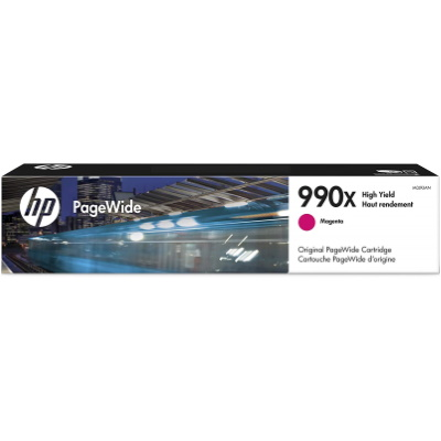 HP 990X Magenta Ink Cartridge - HP Genuine OEM (Magenta)