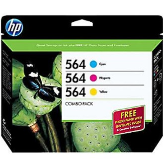 B3B33FN Ink Cartridge - HP Genuine OEM (Bundle Pack)