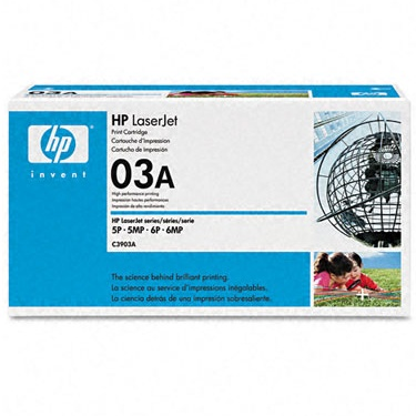 C3903A Toner Cartridge - HP Genuine OEM (Black)