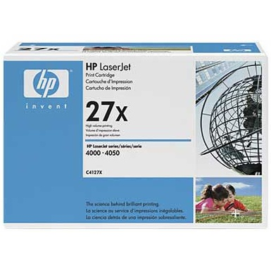 C4127X Toner Cartridge - HP Genuine OEM (Black)
