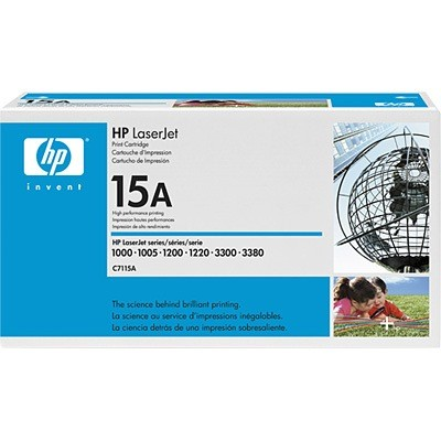 C7115A Toner Cartridge - HP Genuine OEM (Black)
