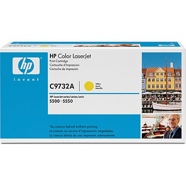 C9732A Toner Cartridge - HP Genuine OEM (Yellow)