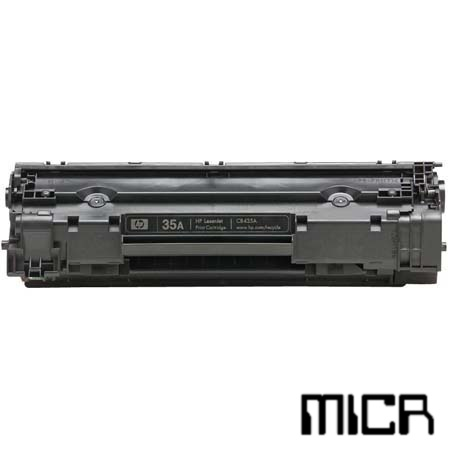 CB435A-micr MICR Toner Cartridge - HP Compatible (Black)