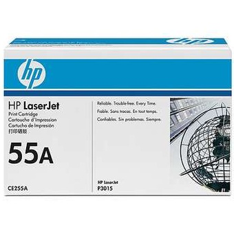 CE255A Toner Cartridge - HP Genuine OEM (Black)