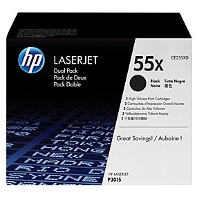 CE255XD Toner Cartridge - HP Genuine OEM (Multipack)