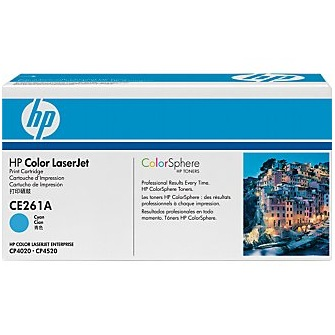 Genuine HP CE261A Cyan Toner Cartridge