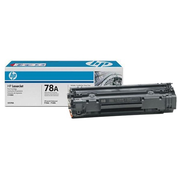 CE278A Toner Cartridge - HP Genuine OEM (Black)