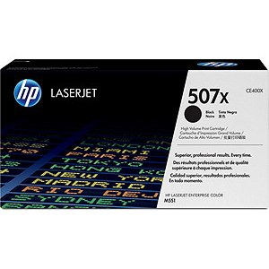 CE400X Toner Cartridge - HP Genuine OEM (Black)