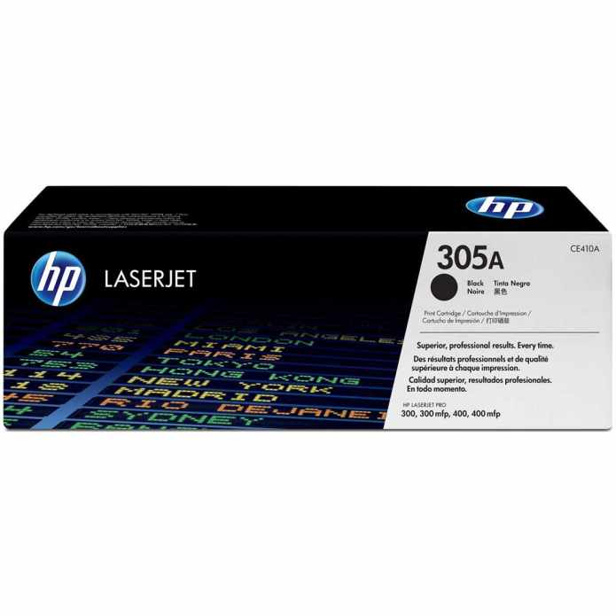 CE410A Toner Cartridge - HP Genuine OEM (Black)