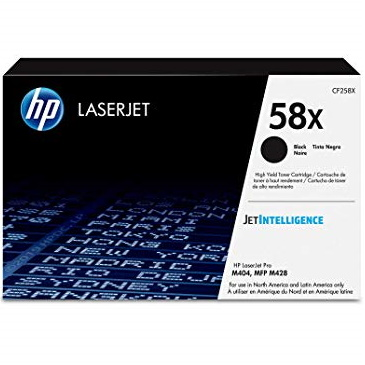 CF258X Toner Cartridge - HP Genuine OEM (Black)