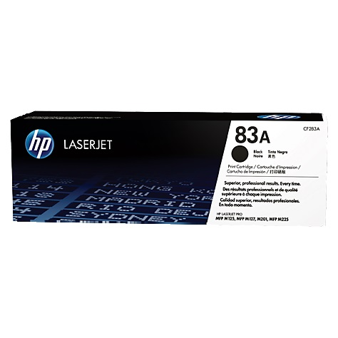 CF283A Toner Cartridge - HP Genuine OEM (Black)
