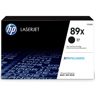 CF289X Toner Cartridge - HP Genuine OEM (Black)