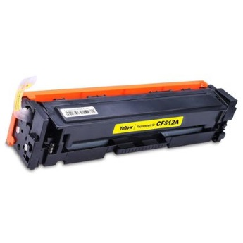 CF512A Toner Cartridge - HP Compatible (Yellow)